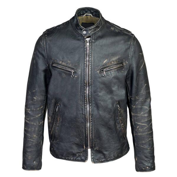 Biker Fit Leather Jacket 1 / Leather Factory Shop / LFS