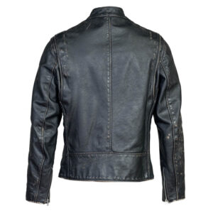 Biker Fit Leather Jacket 2 / Leather Factory Shop / LFS