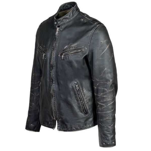 Biker Fit Leather Jacket 3 / Leather Factory Shop / LFS