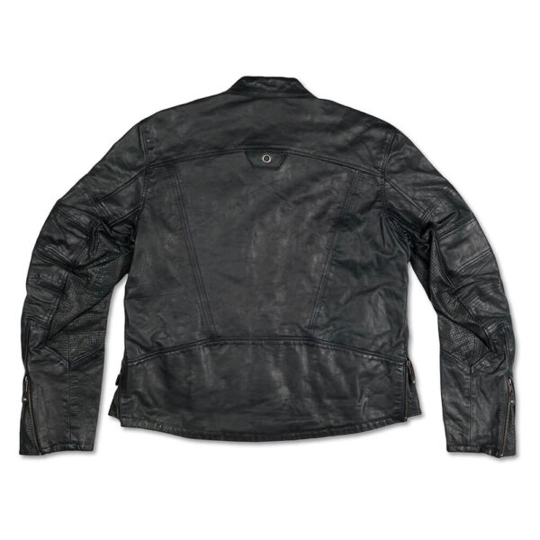 Black Casual Leather Jacket 3 / Leather Factory Shop / LFS