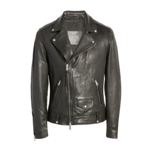 Classic Biker Leather Jacket 1 / Leather Factory Shop / LFS