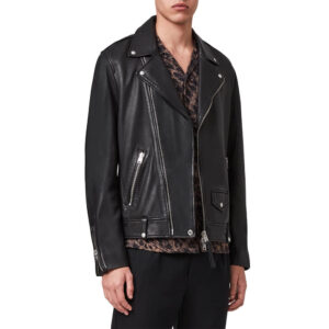Classic Biker Leather Jacket 2 / Leather Factory Shop / LFS