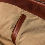 Classic Brown Moto Leather Jacket 4 / Leather Factory Shop / LFS