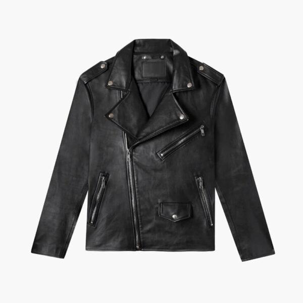 Gangster Leather Jacket 1 / Leather Factory Shop / LFS