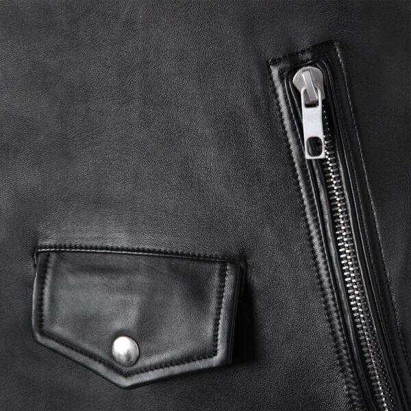 Gangster Leather Jacket 5 / Leather Factory Shop / LFS