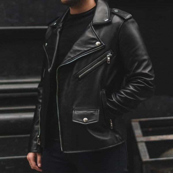 Gangster Leather Jacket 9 / Leather Factory Shop / LFS