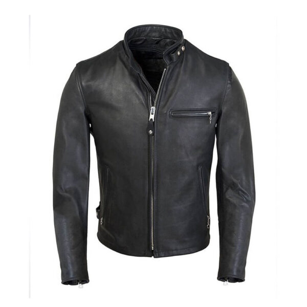 Racer Leather Jacket 1 / Leather Factory Shop / LFS