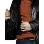 Racer Leather Jacket 4 / Leather Factory Shop / LFS