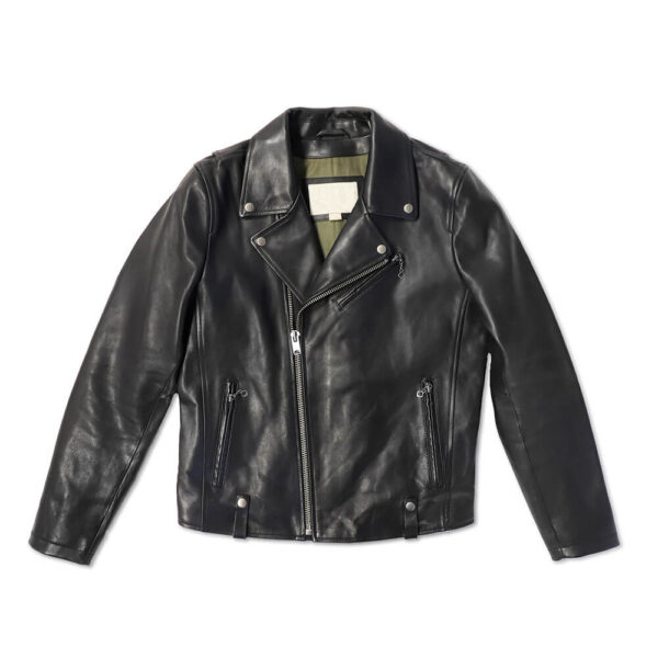The Biker Swag Leather Jacket 1 / Leather Factory Shop / LFS