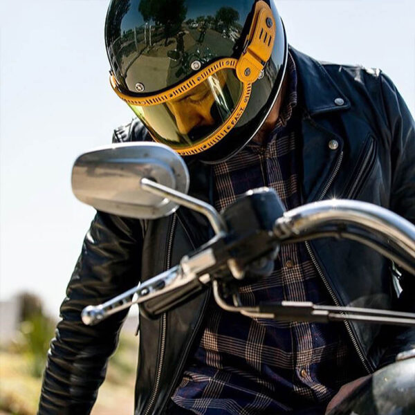 The Biker Swag Leather Jacket 6 / Leather Factory Shop / LFS