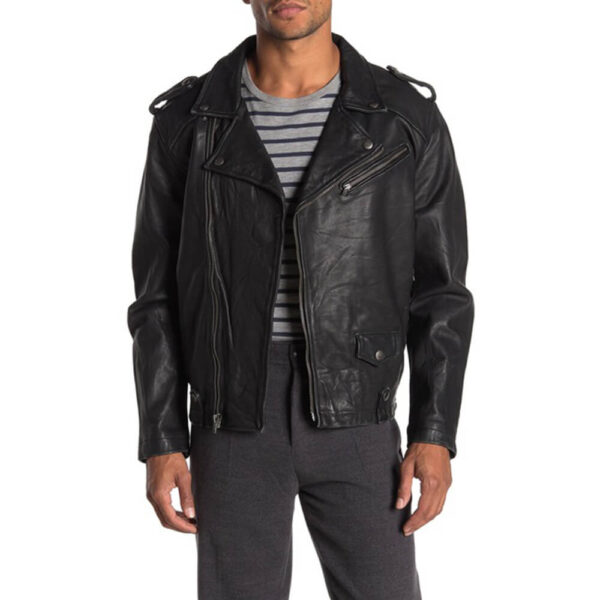 The Race Master Leather Jacket 1 / Leather Factory Shop / LFS
