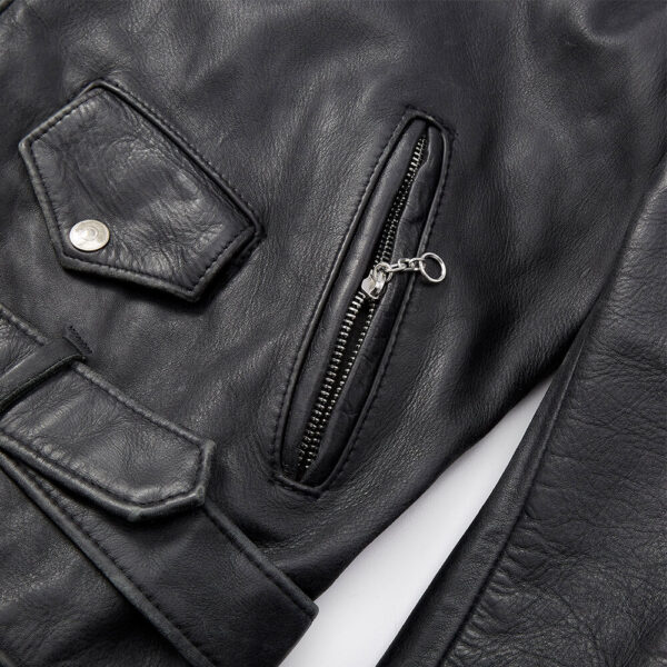 Vintage Leather Jacket 3 / Leather Factory Shop / LFS