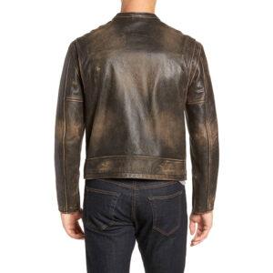 Vintage Racer Leather Jacket 2 / Leather Factory Shop / LFS