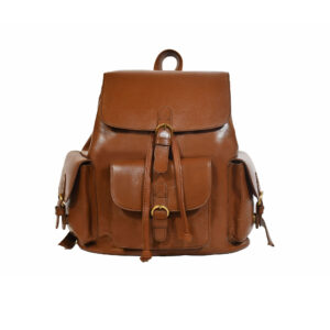 Brooklyn Leather Backpack Brown 1 / Leather Factory Shop / LFS