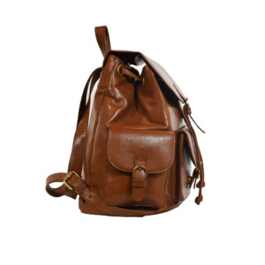 Brooklyn Leather Backpack Brown 2 / Leather Factory Shop / LFS