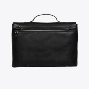 LFS's Maverick Black Leather Briefcase 2 / Leather Factory Shop / LFS
