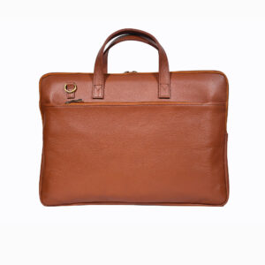 Tanner Mild Leather Laptop Briefcase 1 / Leather Factory Shop / LFS