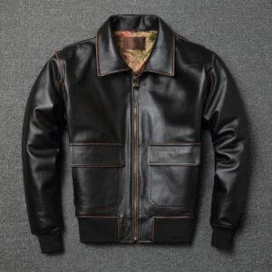 A2 Leather Pilot Jacket