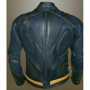 Man Of Steel Henry Cavill Superman Real Perforated Leather Jacket