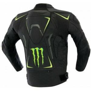 Monster Energy Motorcycle Leather Jacket Races MOTOGP Leather Biker Jackets CE